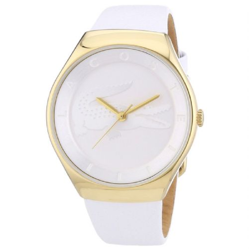 LACOSTE Valencia Gold tone Ladies Watch 2000763
